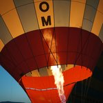 Hot air ballooning is popular