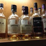 Very good whisky selection in cozy bar area