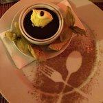Belgian chocolate dessert