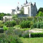 Château vue du jardin