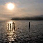 Another sun through the fog