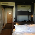 vue chambre de l'hotel de la ferme
