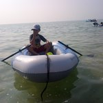 Lost SEVYLOR inflatable boat