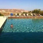 La piscina espectacular!