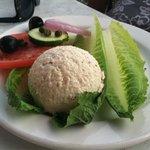 White fish salad app
