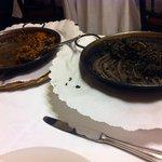 paella a la catalana y arroz negre