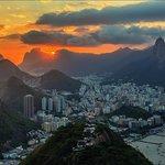 Закат над Рио