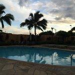 Maui Sunset at the pool