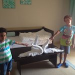 houskeeping make some fun for kids