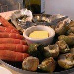 Seafood starter