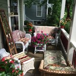Beautiful Sunny Front Porch