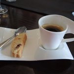 Espresso with Cantucchini