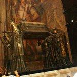 Remains of Christopher Columbus in the Cathedral