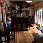 Interior of restaurant at Black Friar