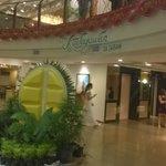 lobby with Kadayawan Festival theme