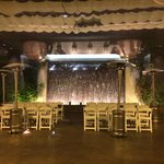 Outdoor venue and water feature