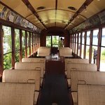 PA trolley interior