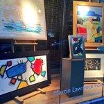 Nice art galeries as well i. newbury