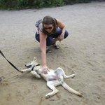 Bagarre avec Cindy la jeune louve