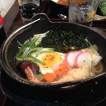 Nabeyaki udon - perfect for a chilly San Francisco night!