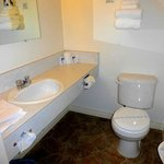 The bathroom - clean and tidy