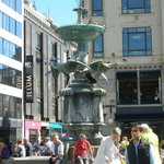 Storkespringvandet (Stork Fountain).