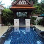 Typical villa pool design