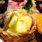 加賀野菜天ぷら
