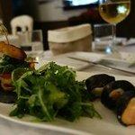 Sushi et Hamburger au foie gras