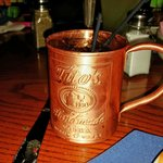 Moscow mule.  Try this if you like vodka drinks.  Very tasty!