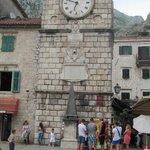 Часы на центральной площади