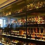 Colección de botellas raras