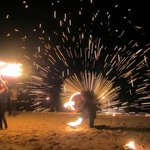Melanesian night on Thursday, enjoy the spectacular fireshow!