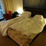 部屋のベッドです。