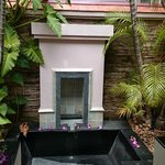 Outdoor bathtub, amenity at the Spa Villa room