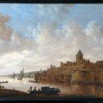 Gezicht op NIjmegen 1649 Jan van Goyen