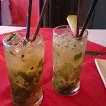 Refreshing Lime Mojitos