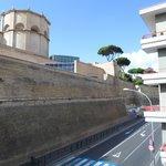 Vue de la chabre sur le musée du vatican