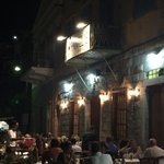 Busy evening ambience at Pantelis
