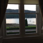 View from the bedroom window - lovely