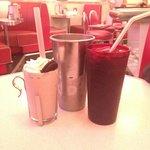 Oreo milkshake!