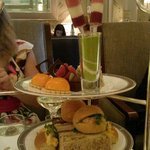 Yummy food. Also included lovely warm scones with jam and clotted cream