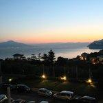 h 05.30 am alba magnifica vista dal nostro balcone