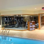 22nd floor pool and exercise room - August 2014
