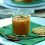 an extraordinary carrot cream soup