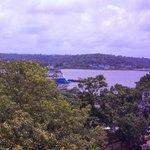mandovi view from hotel room