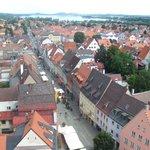 Town of Fussen from Hohen Schloss