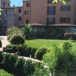 Giardino e hotel