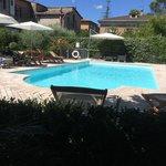 La bellissima piscina