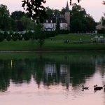 La vue du lac..😊😊😊